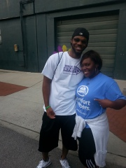 Walking to support Alzheimers Awareness before I got sick